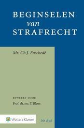 Beginselen van strafrecht Enschedé, Ch. J., Paperback