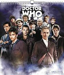 DOCTOR WHO SPECIAL ED 2018 WALL CALENDAR Paperback