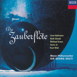 DIE ZAUBERFLOTE -COMPLETE W/SOL, WIENER PHIL.ORCHESTRA, SIR GEORG SOLTI Audio CD, W.A. MOZART, CD