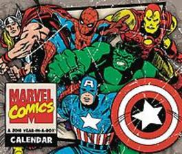 HISTORY OF MARVEL COMICS 2018 BOXED CALENDAR Paperback