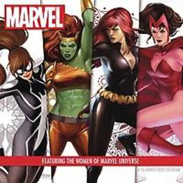 WOMEN OF MARVEL 2018 16 MONTH WALL CAL Paperback