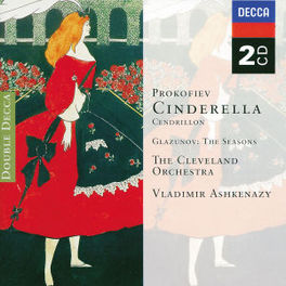 CINDERELLA W/CLEVELAND ORCHESTRA, VLADIMIR ASHKENAZY Audio CD, S. PROKOFIEV, CD
