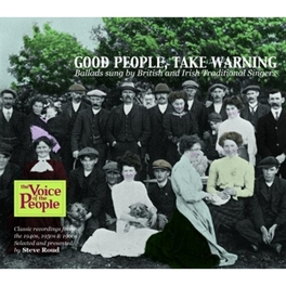 GOOD PEOPLE TAKE WARNING W:BOB & RON COPPER/JEAN ELVIN/MAGGIE CHABMERS/& OTHERS V/A, CD