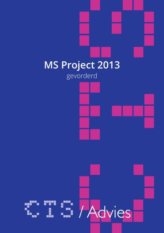 MS Project 2010-2013 Gevorderd. gevorderd, Scheublin, Charles, Losbladig