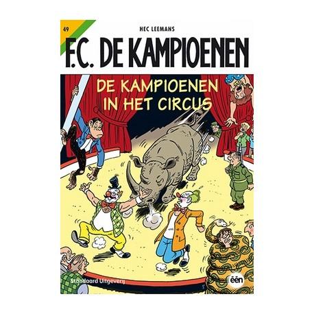 De kampioenen in het circus KAMPIOENEN, Hec Leemans, Paperback