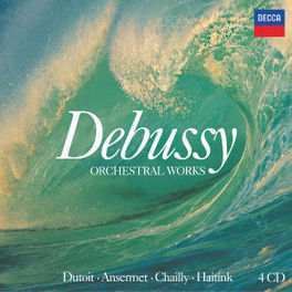 ORCHESTRAL WORKS *BOX* W/ANSERMET/DUTOIT/CHAILLY/HAITINK//INCL. BOOKLET Audio CD, C. DEBUSSY, CD