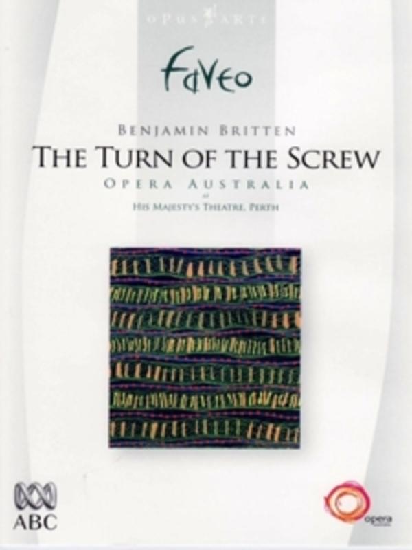THE TURN OF THE SCREW, BRITTEN, STANHOPE, D. PAL/ALL REGIONS/WEST AUSTRALIAN S.O./D.STANHOPE DVD, B. BRITTEN, DVDNL