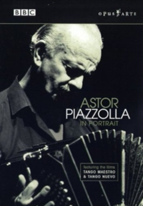 ASTOR PIAZZOLLA IN PORTRAIT, PIAZZOLLA NTSC/ALL REGIONS/KRONOS QUARTET /GLOBAL SOUNDS 2005 DVD, ASTOR PIAZZOLLA, DVDNL