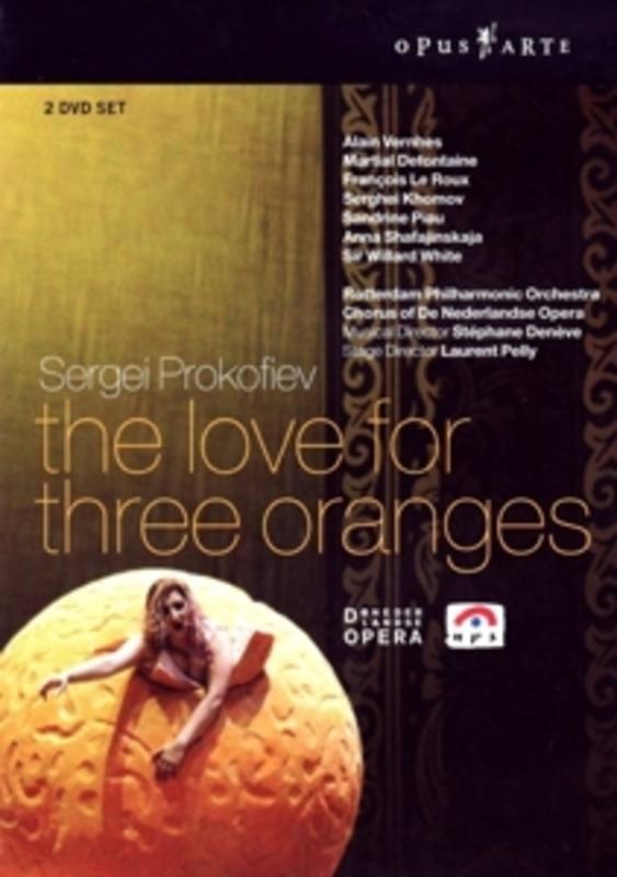 THE LOVE FOR THREE ORANGES, PROKOFIEV, SERGEIJ, DENEVE, S. NTSC/ALL REGIONS/ROTTERDAM P.O./S.DENEVE DVD, S. PROKOFIEV, DVDNL