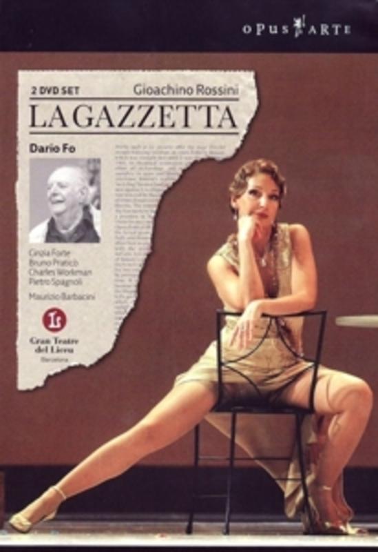 LA GAZZETTA, ROSSINI, GIOACHINO, BARBACINI, M. GRAN TEATRE DEL LICEU/BARBACINI DVD, G. ROSSINI, DVD