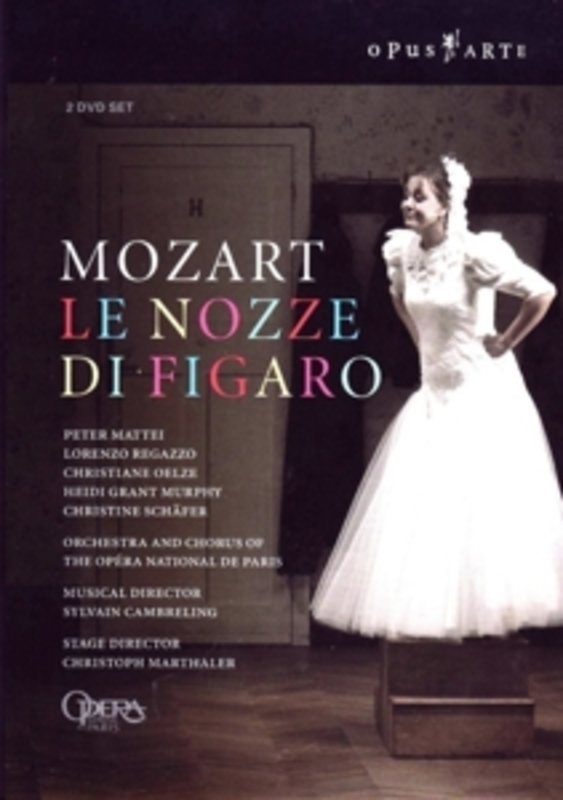 LE NOZZE DI FIGARO, MOZART, WOLFGANG AMADEUS, CAMBRELING, S. NTSC/ALL REGIONS//OPERA NATIONAL PARIS/S.CAMBRELING DVD, W.A. MOZART, DVDNL