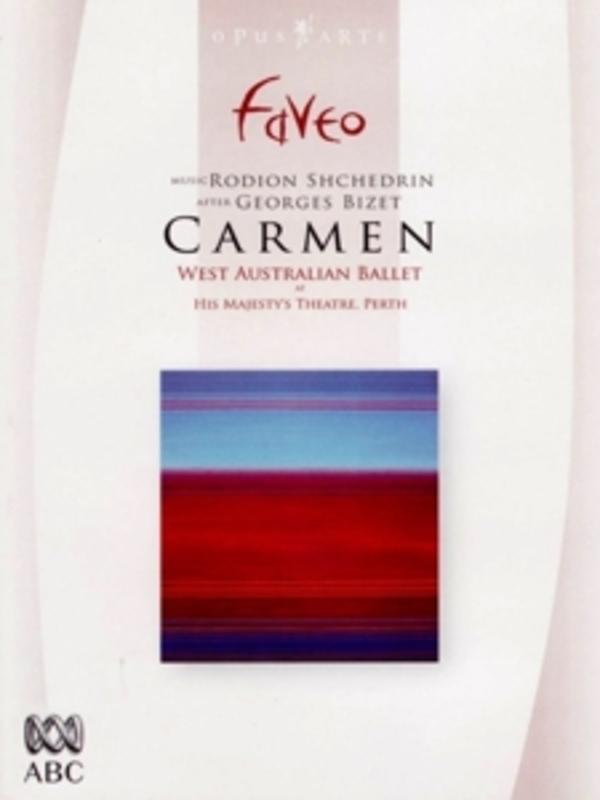 CARMEN, BIZET, FRAILLON, N. WEST AUSTRALIAN BALLET S.O./N.FRAILLON, ALL REG. DVD, BIZET/SHCHEDRIN, DVD
