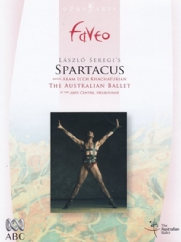 SPARTACUS, KHATCHATURIAN, WILKINS, O. NTSC/ALL REGIONS// W/AUSTRALIAN BALLET/STEVEN HEATHCOTE DVD, A. KHACHATURIAN, DVDNL