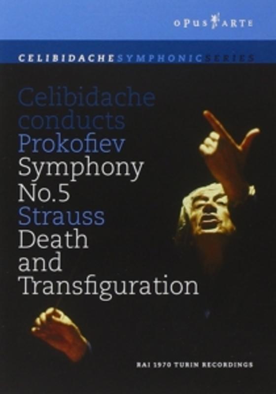SYMPHONY 5/DEATH AND TRANSFIGURATIO, PROKOFIEV/STRAUSS, R., CELIBIDACHE, S. .. TRANSFIGURATION//CELIBIDACHE, S//ORCHESTRA SINFON DVD, R. PROKOFIEV/STRAUSS, DVD