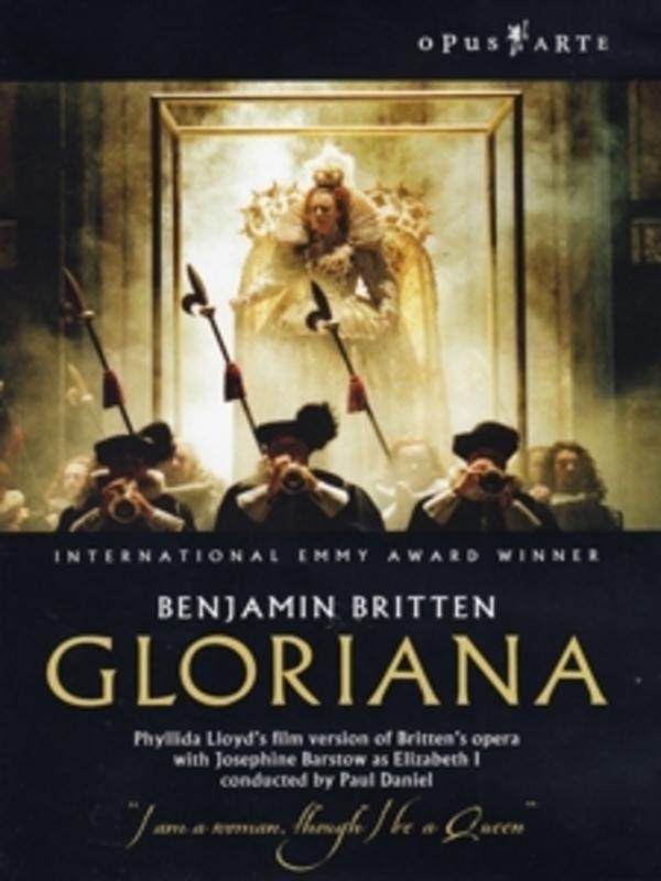 GLORIANA, BRITTEN, BENJAMIN, DANIEL, P. NTSC/ALL REGIONS//ENGL.NORTH.PHILH./PAUL DANIEL/A.O. DVD, B. BRITTEN, DVD