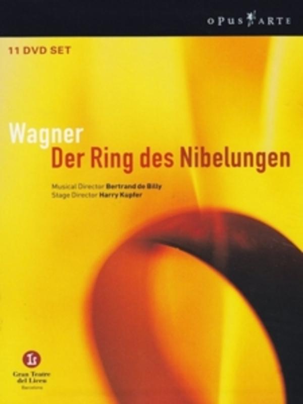 DER RING DES NIBELUNGEN, WAGNER, RICHARD, DE BILLY, B. NTSC/ALL REGIONS/BERTRAND DE BILLY DVD, R. WAGNER, DVDNL