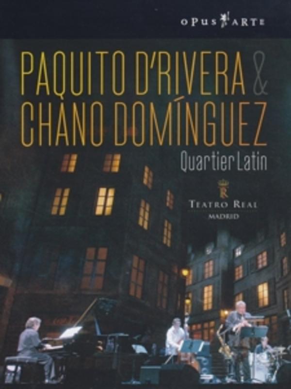 QUARTIER LATIN, D RIVERA/DOMINGUEZ W/DOMINGUEZ DVD, PAQUITO D'RIVERA, DVD