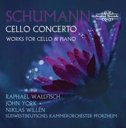 CELLO CONCERTO RAPHAEL WALLFISCH/JOHN YORK R. SCHUMANN, CD
