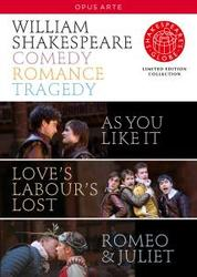 COMEDY ROMANCE LEGACY, SHAKESPEARE, WILLIAM CUMBUS/GRAVELLE/ANOUKA/FARTHING
