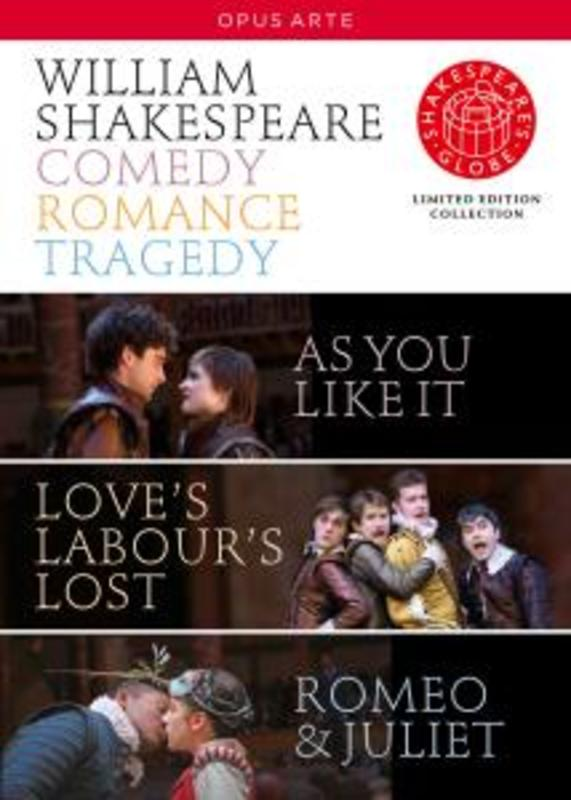 COMEDY ROMANCE LEGACY, SHAKESPEARE, WILLIAM CUMBUS/GRAVELLE/ANOUKA/FARTHING DVD, W. SHAKESPEARE, DVDNL