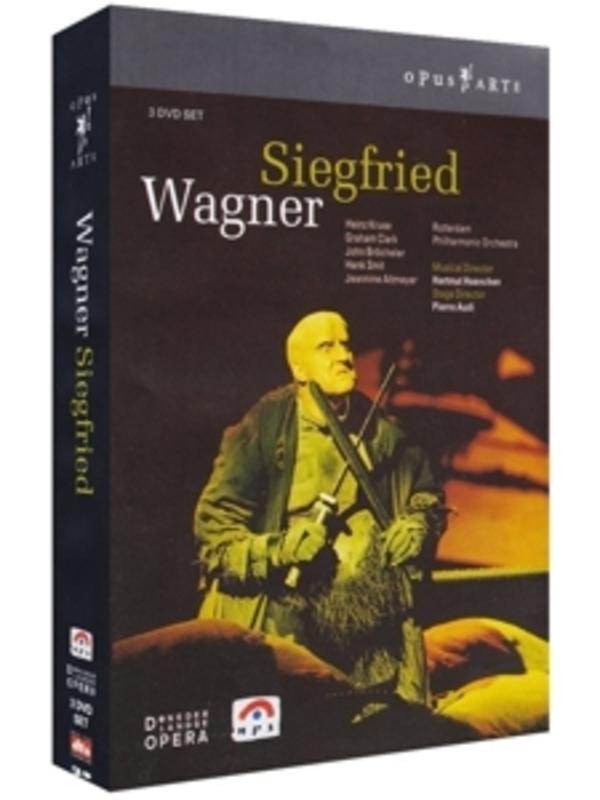 SIEGFRIED, WAGNER, RICHARD, HAENCHEN, H. DE NEDERLANDSE OPERA/HARMUT HAENCHEN/NTSC/ALL REGIONS DVD, R. WAGNER, DVDNL