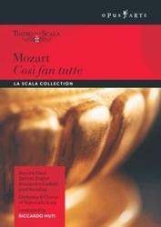 COSI FAN TUTTE NTSC/ALL REGIONS/LA SCALA MILAN/RICCARDO MUTI