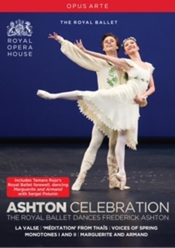 ASHTON CELEBRATION ROYAL BALLET, DVD