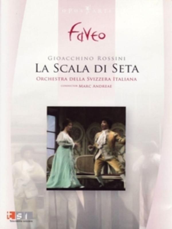 LA SCALA DI SETA, ROSSINI, ANDREAE, M. ORCH.DELLA SVIZZERA/M.ANDRAE/NTSC/ALL REGIONS DVD, G. ROSSINI, DVD