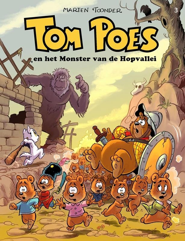 Tom Poes en het monster van de Hopvallei TOM POES, Toonder, Marten, Hardcover