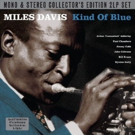KIND OF BLUE,MONO &.. .. STEREO . LP1: MONO, LP2: STEREO. 180GR. MILES DAVIS, LP
