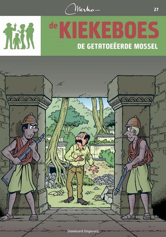 De getatoeëerde mossel KIEKEBOES DE, Merho, Paperback