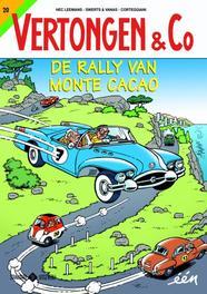 20 De rally van Monte-Cacao Vertongen en C°, Hec Leemans, Paperback
