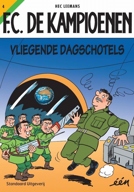 Vliegende dagschotels F.C. De Kampioenen, LEEMANS, HEC, Paperback