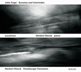 PIANO WORKS W/HERBERT HENCK Audio CD, CAGE/HENCK, CD