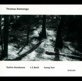 THOMAS DEMENGA PLAYS-DIGI Audio CD, HOSOKAWA/BACH/YUN, CD