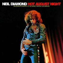 HOT AUGUST NIGHT NEIL DIAMOND, Vinyl LP