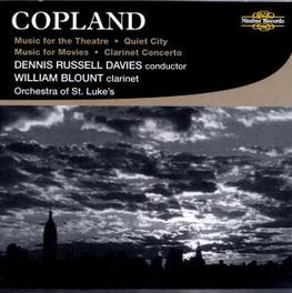 CLARINET CONCERT ORCH.ST.LUKE/RUSSELL DAVIES Audio CD, A. COPLAND, CD