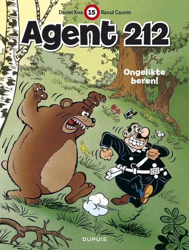 AGENT 212 15. ONGELIKTE BEREN! AGENT 212, KOX, DANIËL, CAUVIN, RAOUL, Paperback