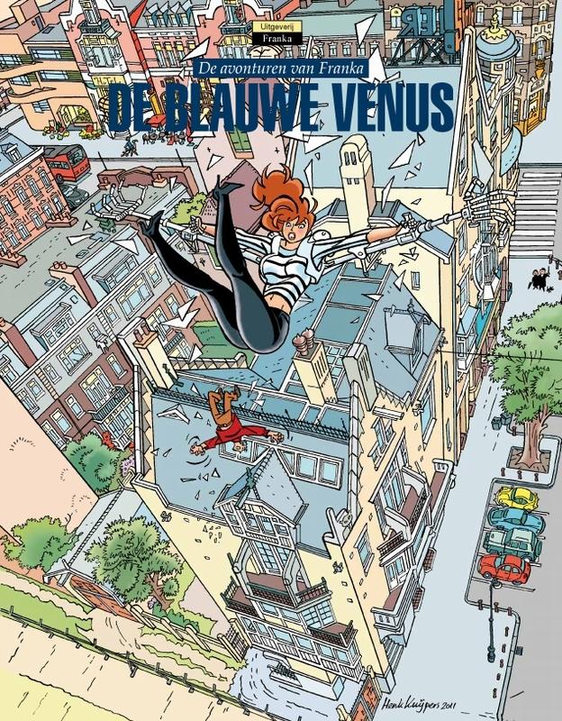 FRANKA HC12. DE BLAUWE VENUS (GEHEEL HERZIENE EDITIE) FRANKA, Kuijpers, Henk, Hardcover