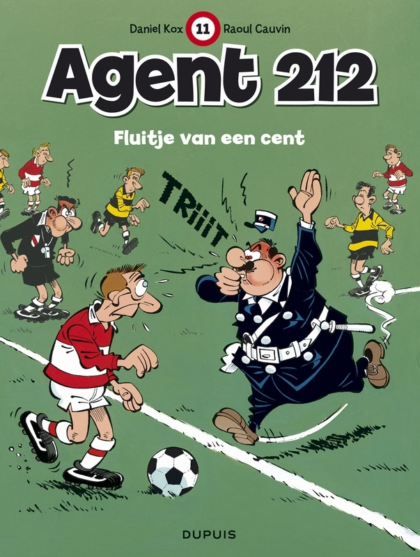 AGENT 212 11. FLUITJE VAN EEN CENT AGENT 212, KOX, DANIËL, CAUVIN, RAOUL, Paperback