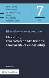 Asser 7-VII Maatschap, vennootschap onder firma en commanditaire vennootschap Bijzondere overeenkomsten, prof. mr. M. van Olffen, Hardcover