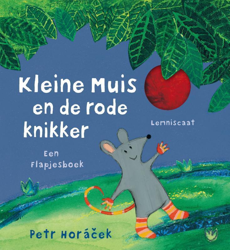 Kleine muis en de rode knikker Horácek, Petr, Hardcover