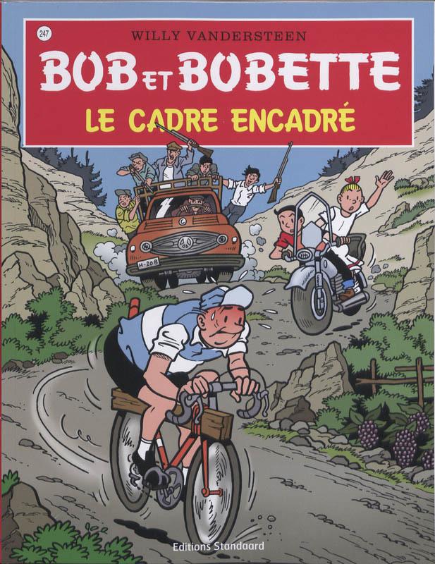 Le cadre encadre Bob et Bobette, Willy Vandersteen, Paperback