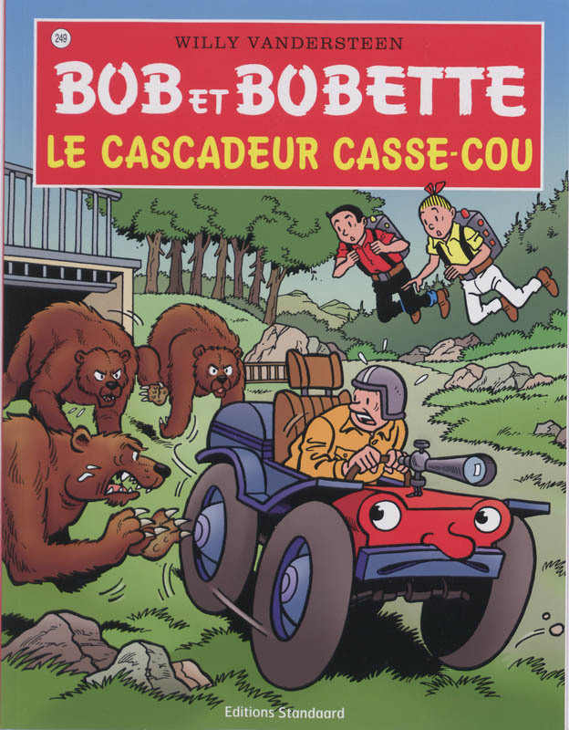 BOB ET BOBETTE 249. LE CASCADEUR CASSE-COU (NIEUWE COVER) Bob et Bobette, Vandersteen, Willy, Paperback