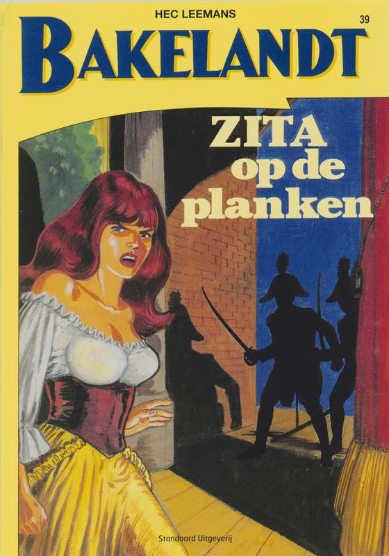 Zita op de planken BAKELANDT, Hec Leemans, Paperback