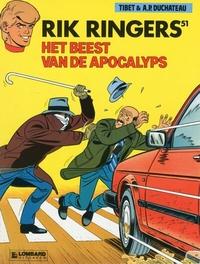 RIK RINGERS 51. BEEST VAN DE APOCALYPS RIK RINGERS, TIBET, Paperback