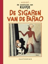 KUIFJE FACSIMILE Z/W 04. DE SIGAREN VAN DE FARAO De sigaren van de Farao, Hergé, Hardcover