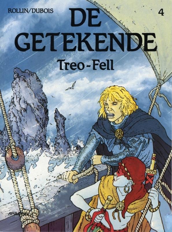 GETEKENDE 04. TREO-FELL GETEKENDE, ROLLIN, DUBOIS, Paperback