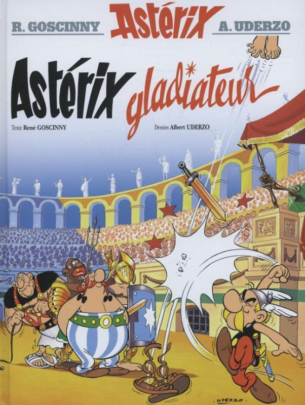 ASTERIX HC04. GLADIATEUR ASTERIX, Goscinny, Hardcover