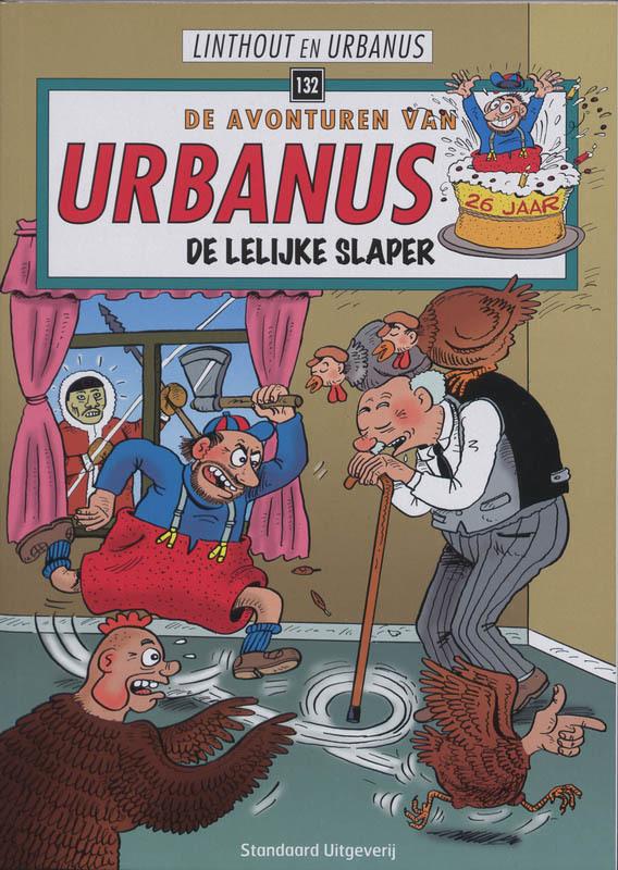 De lelijke slaper De avonturen van Urbanus, Urbanus, Paperback